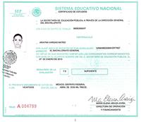 Certificado de Prepa